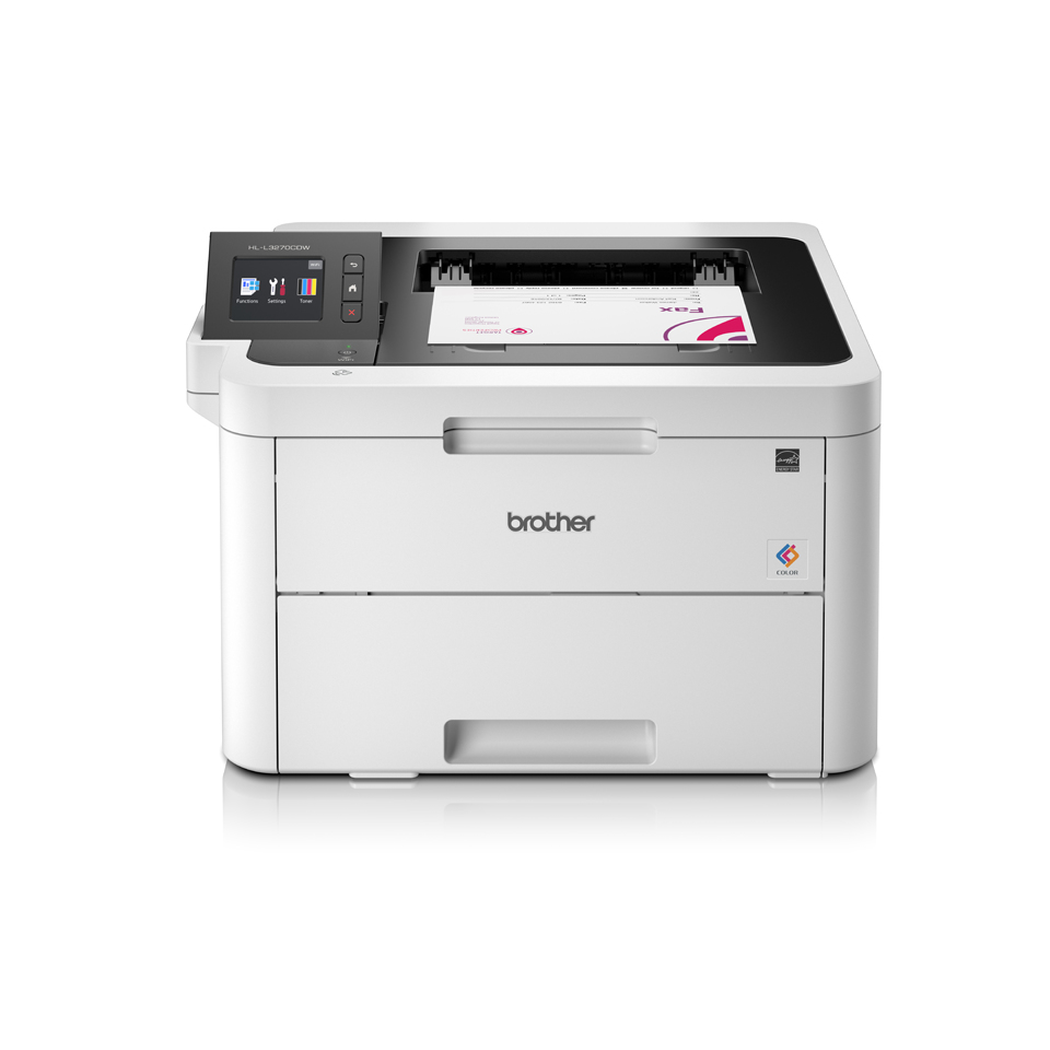 "Brother HL-L3270CDW Color Laser printer Duplex NFC 6.8"" scrn"