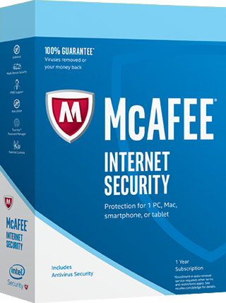 McAfee 2017 Internet Security 10