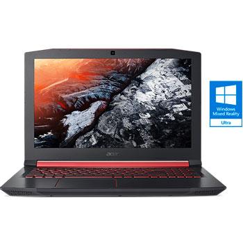 "Acer 15.6""FHD IPS i7-8750H 8GB 256SSD+1TB GTX1050Ti-4 W10"