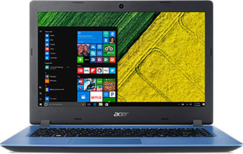 "ACER ASPIRE 3 15.6""FHD I3-7020U 8GB 256SSD+1TB Win10 Blue"