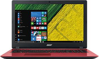 "ACER ASPIRE 3 15.6""FHD I3-7020U 8GB 256SSD+1TB Win10 Red"