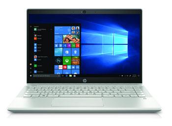 "HP Pav 14-ce1008nb 14""FHD IPS i5-8265U 8GB 256SSD Silver W10"