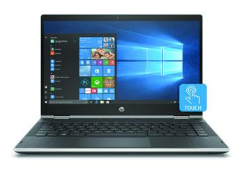 """HP Pavilion X360 14""""FHD IPS i5-8265U 8GB 256SSD Silver Win10"""