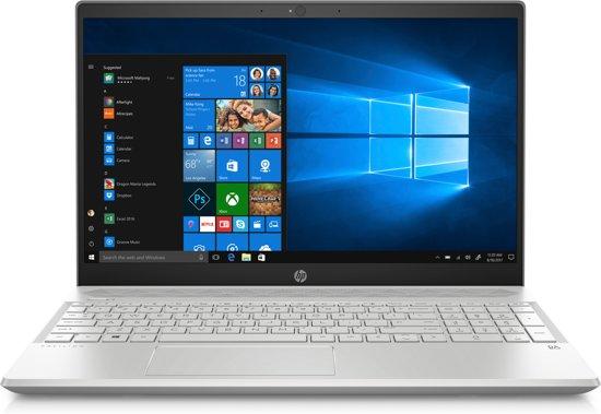 "HP Pavilion 15.6""FHD i5-8265U 12GB 256SSD MX130-2 Silver W10"