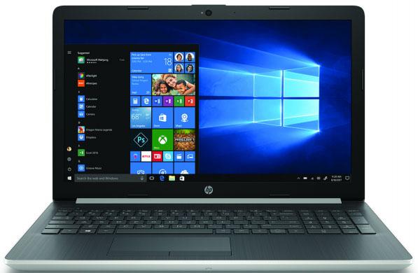 "HP 15.6""FHD AG A6-9225 4GB 256SSD R520-2GB Silver Win10"