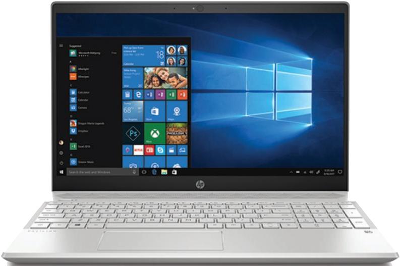 "HP Pavilion 15.6""FHD IPS i5-8250U 6GB 256SSD Silver Win10"