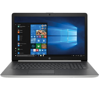"HP 17.3""HD+ AG A6-9225 8GB 256SSD DVDRW Silver Win10"