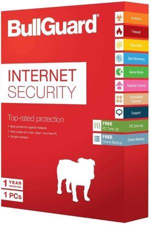 Bullguard Internet Security 1Y 1 User White Cap  BOX OEM  25