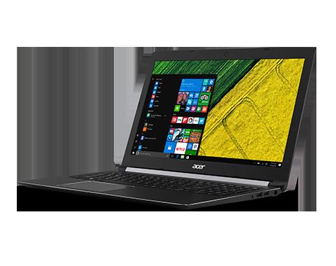 "Acer Aspire 5 17.3""FHD I3-7020U 6GB 256SSD DVD Black WIN10"