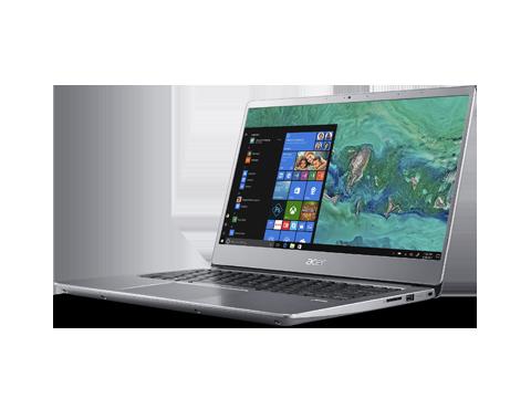 "Acer Swift3 14""FHD IPS I5-8250U 8GB 256SSD No Odd Silver W10"