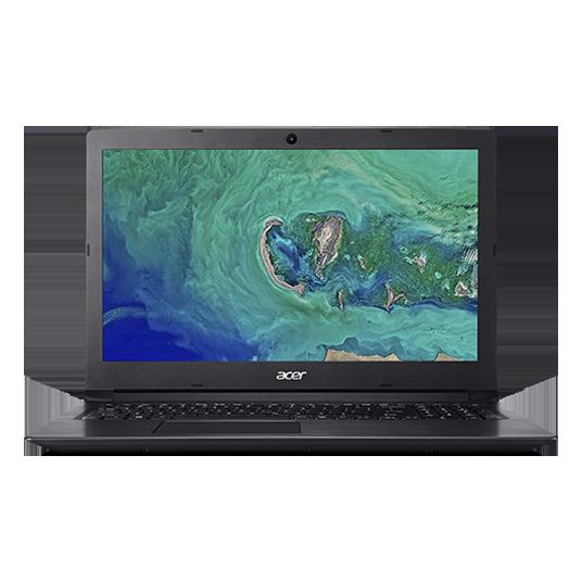 "Acer Aspire3 15.6""FHD I5-8250U 8GB 256SSD + 1TB Black Win10"