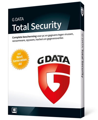 G Data GData Total Security 2018 3PC French Multidevice